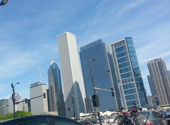 NW View from Lake Shore Drive. Nothing like my beautiful city.