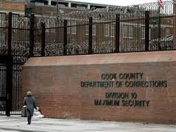 Front View of Cook County Jail. Photo courtesy of jchmarketingchicago.com